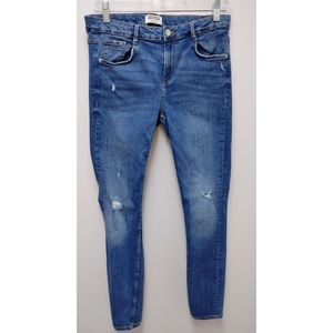 Zara Trafaluc Skinny High Rise Jeans Size 12